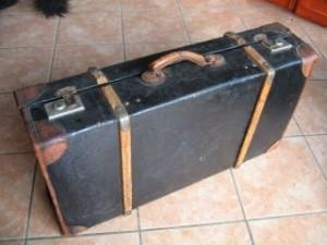 Der berüchtige schwarze Koffer, den Adorno Ute vor 50 Jahren anvertraute.
