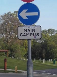 Ein Scherz von Studierenden der Uni Essex.